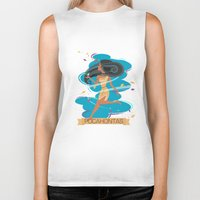 pocahontas Biker Tanks featuring Pocahontas by LindseyCowley