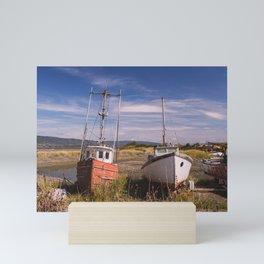 Boat Graveyard I Mini Art Print