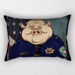 Officer Peel, Public Servant Rectangular Pillow