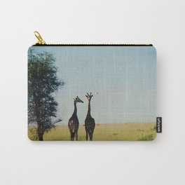 two tall.  Carry-All Pouch