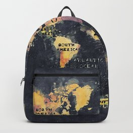 world map 12 Backpack