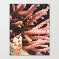 aquarius Canvas Prints featuring Aquarius by Djuno Tomsni