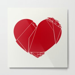 Heart-2 Metal Print