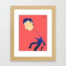 Floating Thoughts Framed Art Print