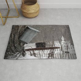Sugaring 3 - Maple Syrup Rug