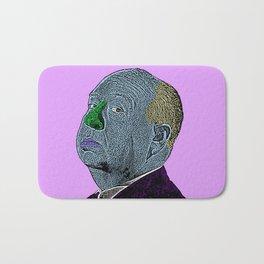 Alfred Hitchcock Bath Mat