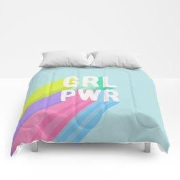 GRL PWR x Blue Comforters