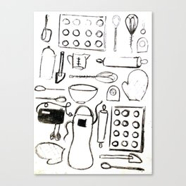 Pantry Canvas Print