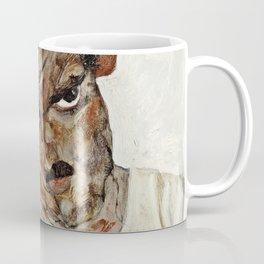 Egon Schiele - Self Portrait With Lowered Head Coffee Mug