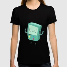 BMO Black SMALL Womens Fitted Tee