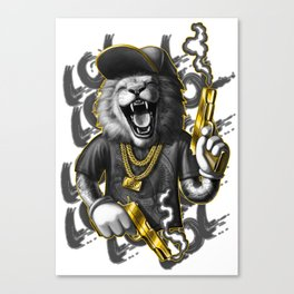 Gang member 1 Canvas Print