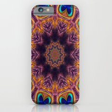 Peacock Fan Star Abstract Slim Case iPhone 6s