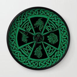 Celtic Nature 2 Wall Clock