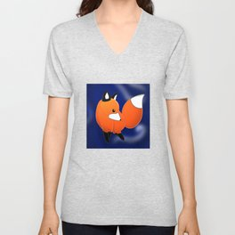 Introducing a fox Unisex V-Neck