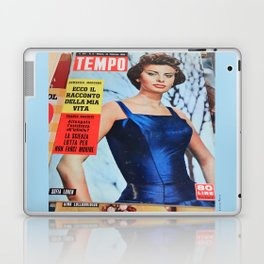 Sofia Loren - Vintage diva Laptop & iPad Skin