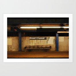 Broad Channel Art Print