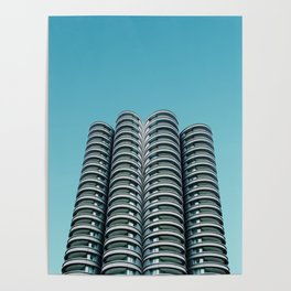 Wilco towers Poster