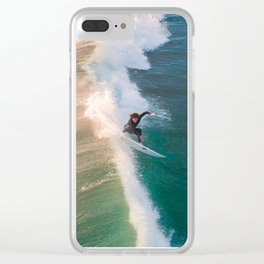 Shredding Clear iPhone Case