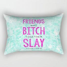 Slay Together Rectangular Pillow