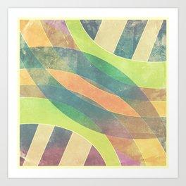 Color Square #2 Art Print