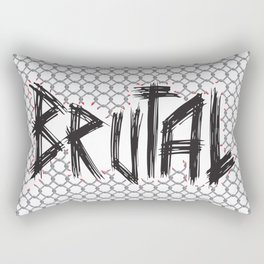 Brutal Fence Rectangular Pillow