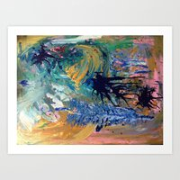 figuring it out Art Print