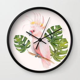 Cockatoo Wall Clock