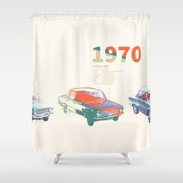 Zhiga Shower Curtain