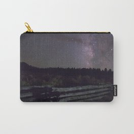 Glittered Night Carry-All Pouch