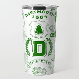 Dartmouth Massachusetts Print Travel Mug