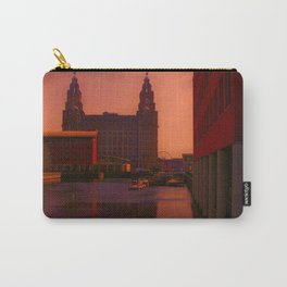 The Liver Building from the Princes Dock Carry-All Pouch