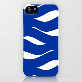 sea waves iPhone Case