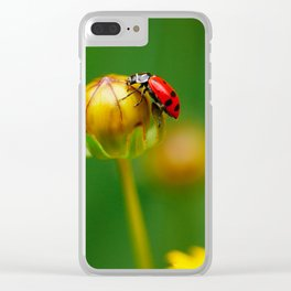 Back on Top Clear iPhone Case