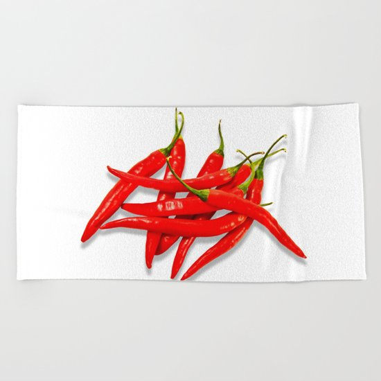 Spicy Beach Towel