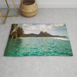 Bora Bora Tahiti, Take Me on a Jet Ski Rug