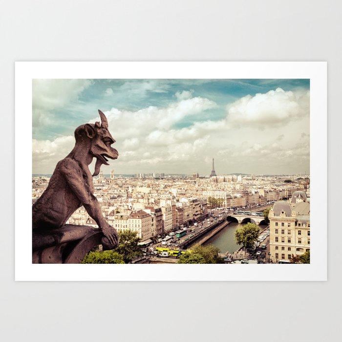 Paris - From Above Art Print