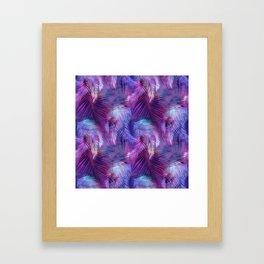 Tamarindo Tropic Purple Framed Art Print
