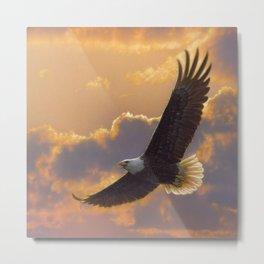 Bald Eagle - Soaring Spirit Metal Print