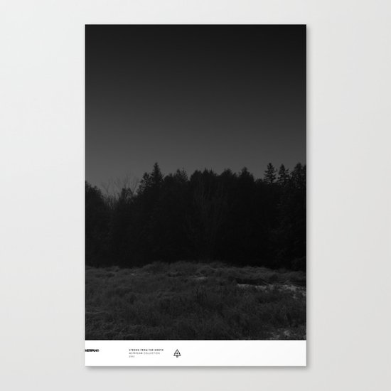Strong From The North / MSTRPLN® Collection Canvas Print