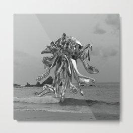 Octopus in Mazunte 20´s  Metal Print