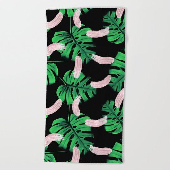 Moody Jungle Beach Towel