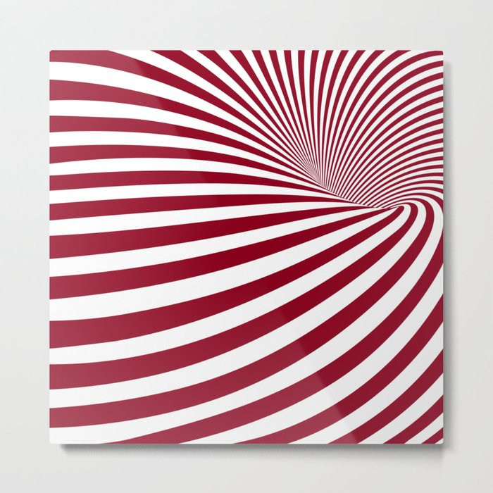 Illusion Metal Print