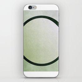 bruised circle iPhone Skin