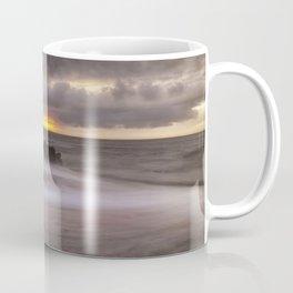 Stormy sunrise at Bracelet Bay Coffee Mug