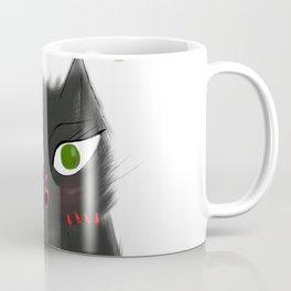 Oh My Purr Adorable Black Cat Coffee Mug