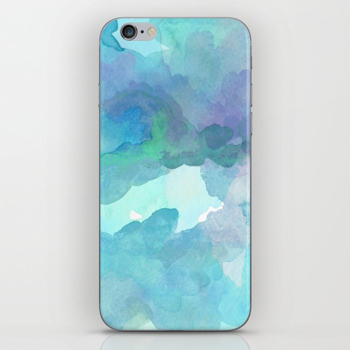 Breathing Under Water (Ocean Clouds) iPhone Skin