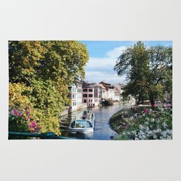 Strasbourg River View Rug