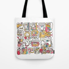 The Mayan Message Tote Bag