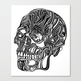 Death Mask No1 Canvas Print