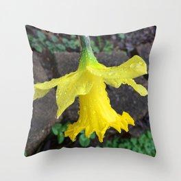 Daffy Drops Throw Pillow